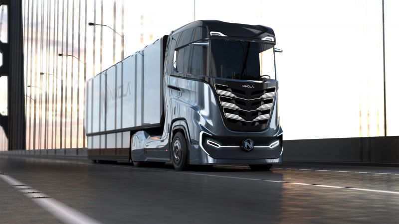 Hydrogen & Electric Truck Startup Nikola Motor Co Debuts on the Nasdaq After Merger with VectoIQ
