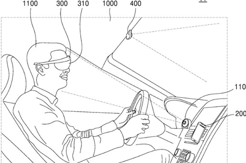 Samsung's Latest AR Glasses Patent Can Act as a Constant HUD