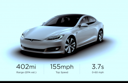 Tesla's Model S Breaks the 400-Mile Range Barrier for the First Time