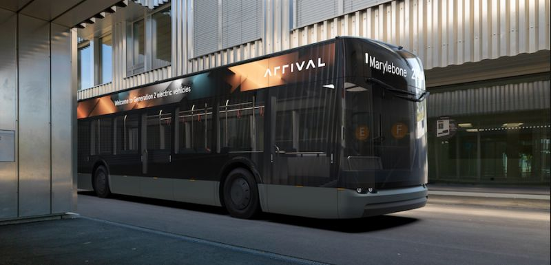 Arrival Introduces Electric Bus That's Social Distancing Friendly