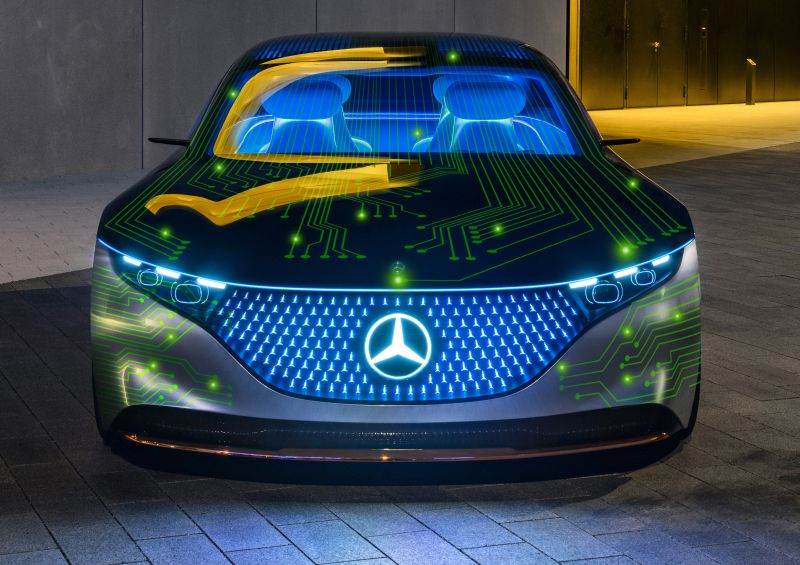 Mercedes Benz & NVIDIA Are Developing a New Software-Based Vehicle Architecture That Supports OTA Updates