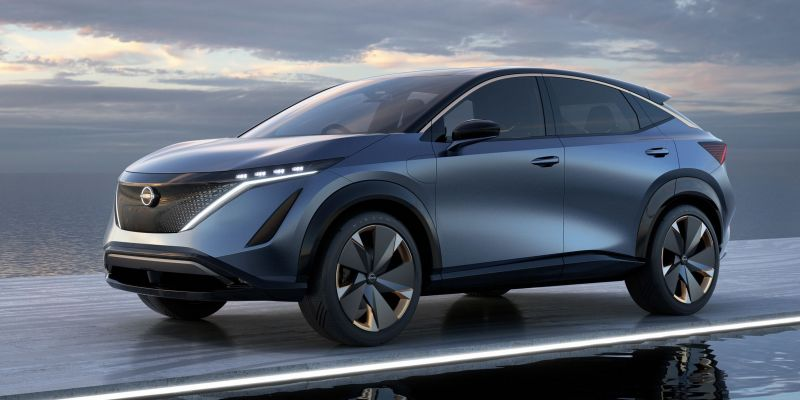 Nissan will Unveil its New Fully-electric Ariya Crossover on July 15th