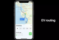 Apple's Upcoming Electric Vehicle Routing Feature Looks to End Range Anxiety