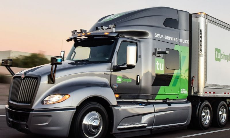 TuSimple Launches the World's First Autonomous Freight Delivery Service