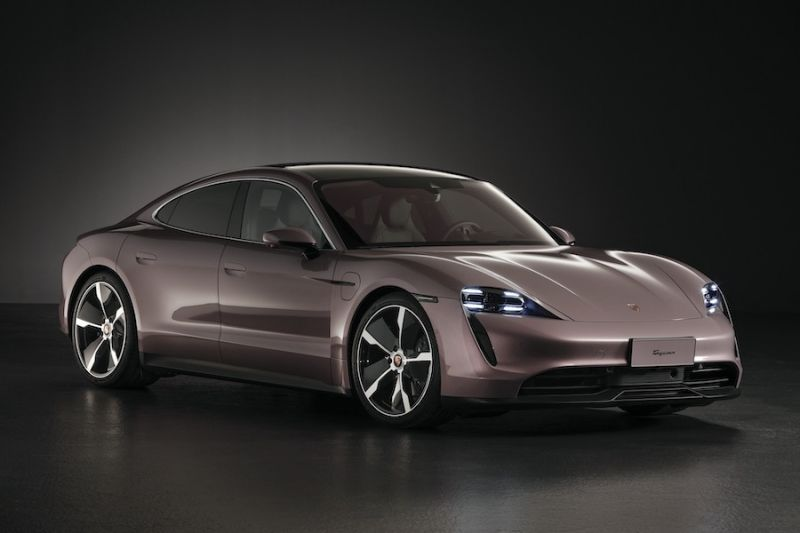 Porsche Rolls Outs RWD Electric Taycan for China