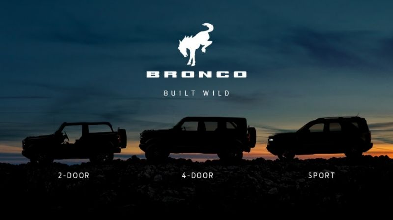 Ford Motor Co is Targeting the Jeep Crowd with its New Bronco Adventure Vehicle Lineup