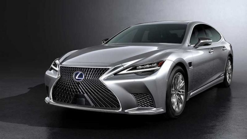 2021 Lexus Ls Facelift Brings More Tech Semi Autonomous Driving System Futurecar Com Via Futurecar Media