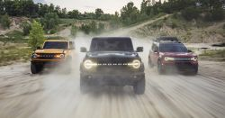 Ford Unveils its New Bronco Family of Rugged SUVs After a 25-Year Hiatus