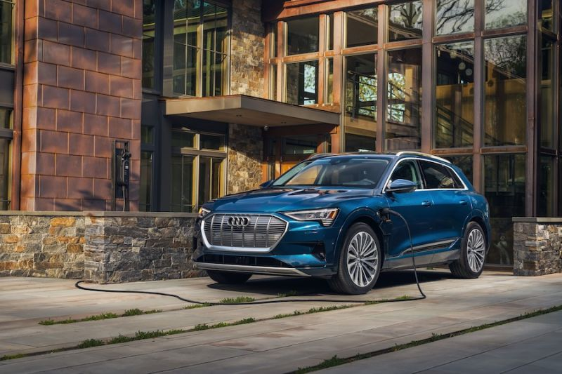 Audi Cuts e-tron Price, Increases Range for 2021