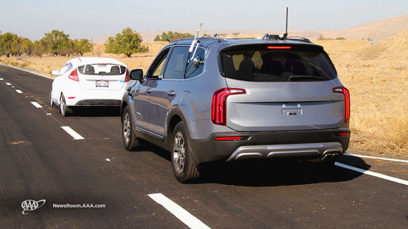 AAA Study Finds Modern Driver-Assist Systems Aren't Reliable