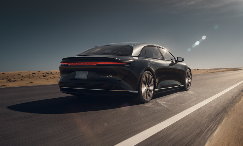 Lucid Motors Raises the Bar for EV Range With 517 Miles on a Single Charge for its Air Sedan