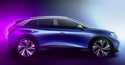 Volkswagen Reveals the Exterior of the Upcoming Electric ID.4