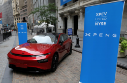Shares of Chinese Electric Vehicle Startup Xpeng Motors Soar 54% After its U.S. IPO