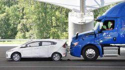 IIHS Study Finds AEB Reduces Semi-Truck Rear-End Crashes by Over 40 Percent