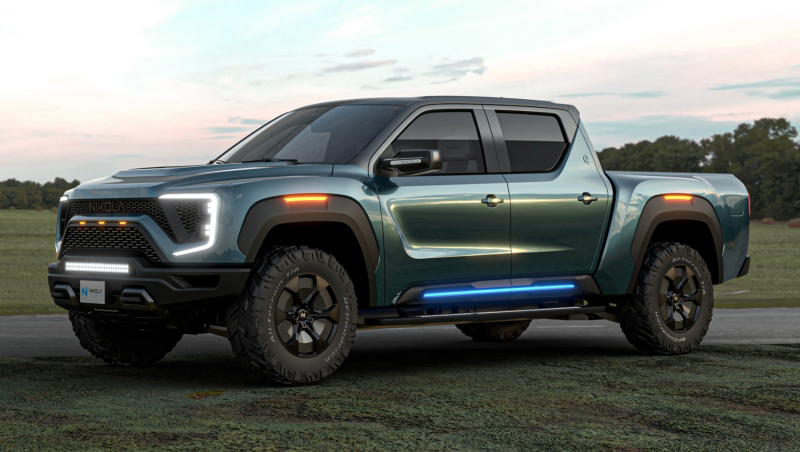 General Motors Takes $2 Billion Equity Stake in Nikola Motor Co., Will Build its Electric/Fuel Cell Badger Pickup
