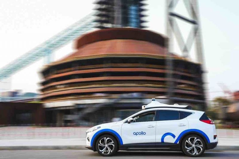 China's Baidu Demonstrates its Apollo Robotaxi Without a Safety Driver Using its 5G-Powered 'Remote Driving Service'