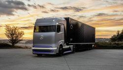 Daimler Trucks Unveils the 'GenH2' Mercedes-Benz Fuel-Cell Concept Truck