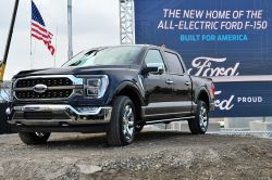 Ford's New F-150 Pickup Goes on Sale in November, a Fully-Electric Version Will Enter Production in 2022
