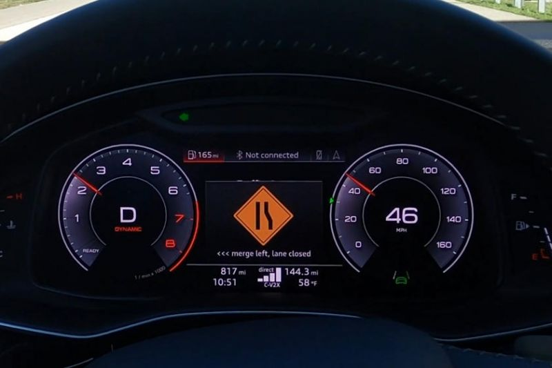 Audi & Qualcomm to Deploy Cellular Vehicle-to-Everything Technology on Virginia Roadways That Will Alert Drivers When Workers Are Present