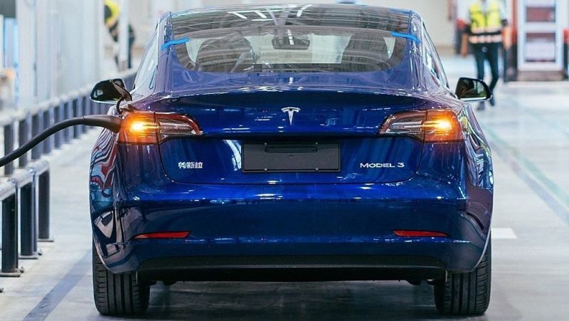 Tesla Cuts of the Price of the Model 3 Sedan in China by 8%