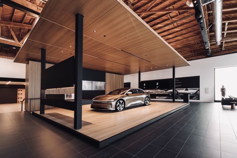 Luxury Electric Automaker Lucid Motors Opens its Studio & Service Center in Southern California