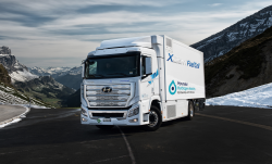 Hyundai Delivers the World's First Mass-Produced Fuel Cell Trucks to Customers in Switzerland
