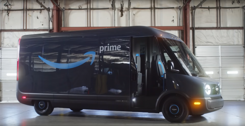 In Case You Missed it: Amazon Reveals its Rivian-Built Electric Delivery Vans