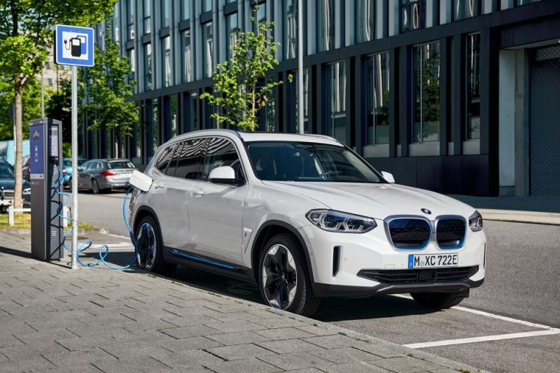 The BMW iX3 Enters Production Featuring the Automaker's Next-Gen Electric Powertrain