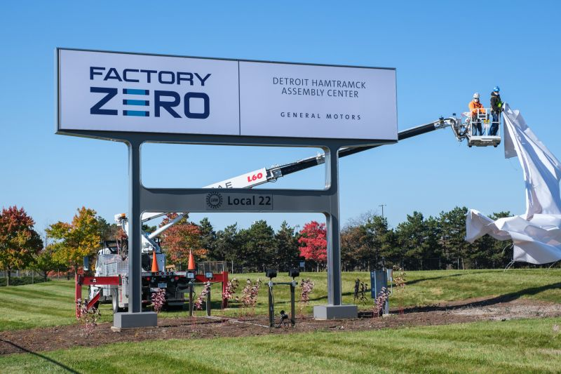 GM Renames is Detroit-Hamtramck Assembly Plant 'Factory ZERO' to Represent the Automaker's Future