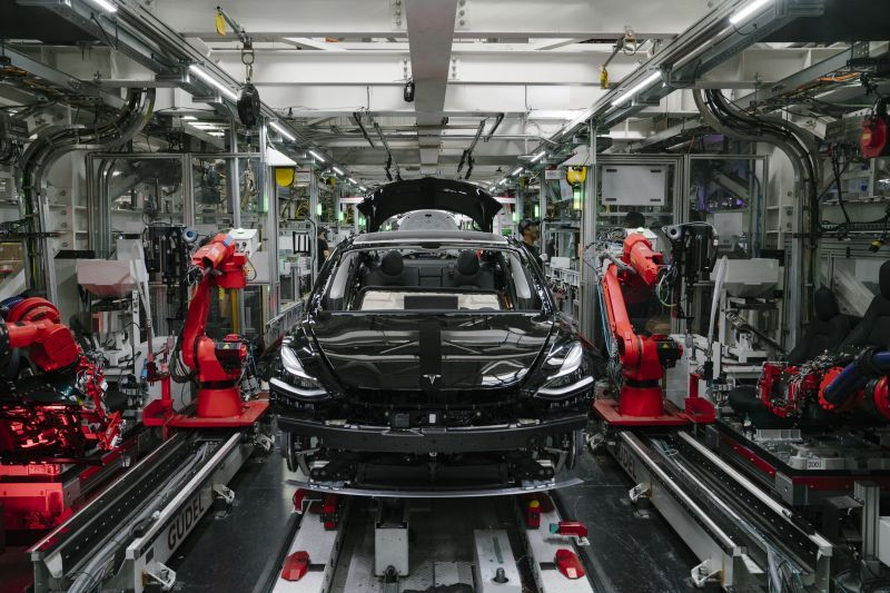 Tesla to Export its China-built Model 3 to Countries in Europe