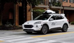 Ford, Argo AI Using the Escape Hybrid SUV for Autonomous Car Service
