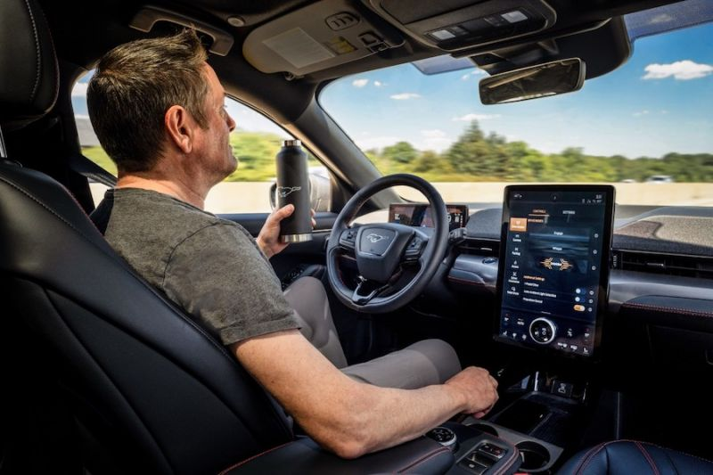 Ford to Offer Mustang Mach-E, F-150 With Hands-Free Active Drive Assist