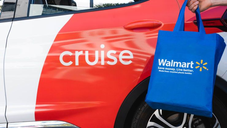 U.S. Retailer Walmart Partners with GM's Cruise on a Self-Driving Delivery Pilot in Arizona