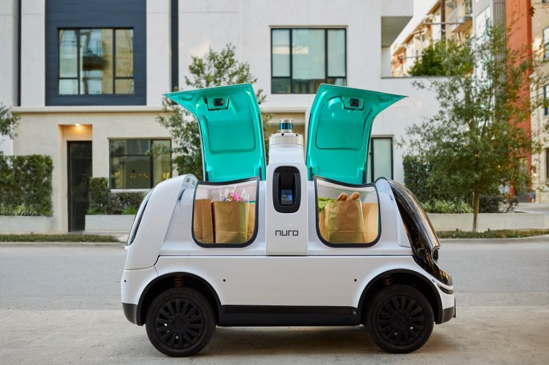 Silicon Valley Startup Nuro Announces $500 Million in New Funding for its Tiny Autonomous Delivery Vehicles