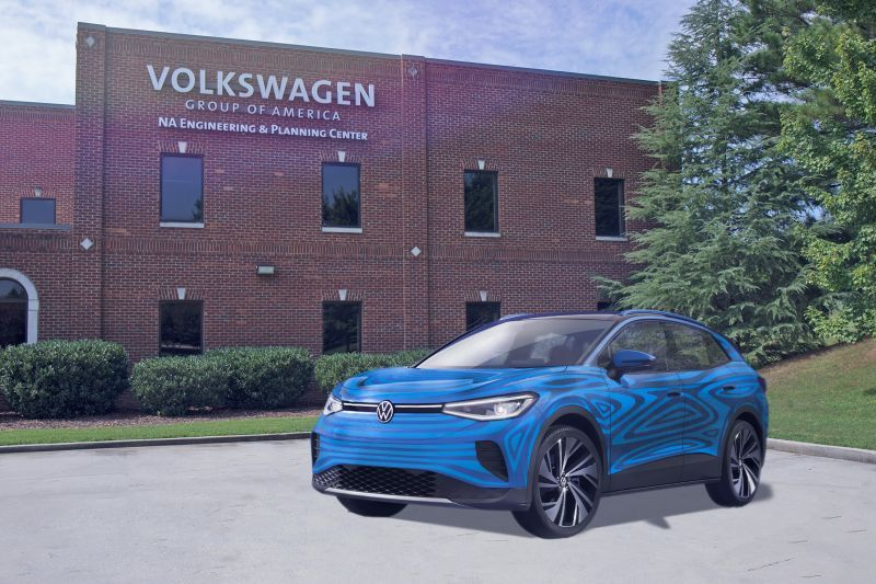 Volkswagen Breaks Ground on its EV Battery Engineering Lab in Tennessee