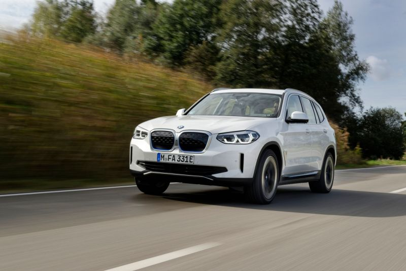 BMW is Exporting its China-Made iX3 Electric SUV to 39 Countries
