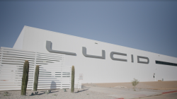 Tesla Challenger Lucid Motors Completes Phase 1 Construction of its 'Future Ready' EV Factory in Arizona