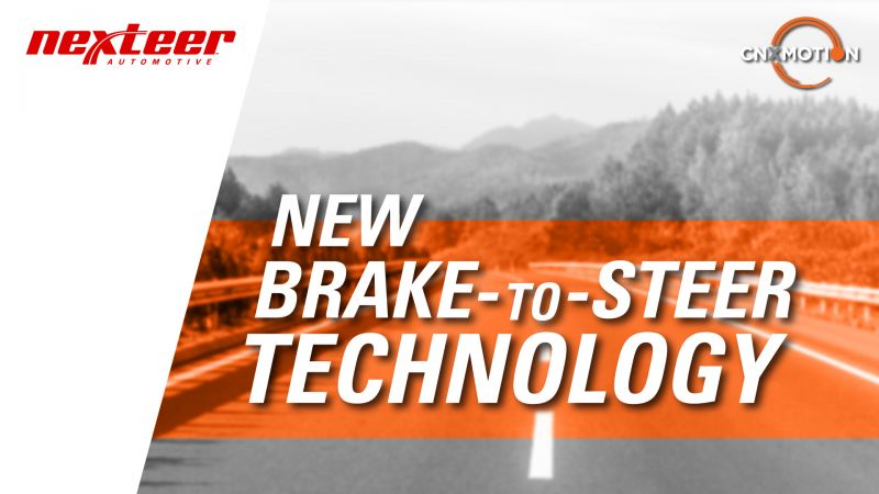 Nexteer & Continental Joint Venture Company Develops 'Brake-to-Steer' Technology for Autonomous Vehicles