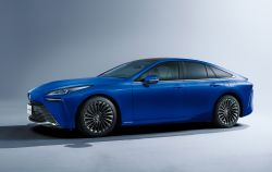 Toyota Launches the Redesigned Mirai Fuel Cell Sedan, Reaffirming the Company's Commitment to Hydrogen Power