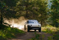 Amazon-backed Rivian Announces Plans to Build its Own EV Charging Network