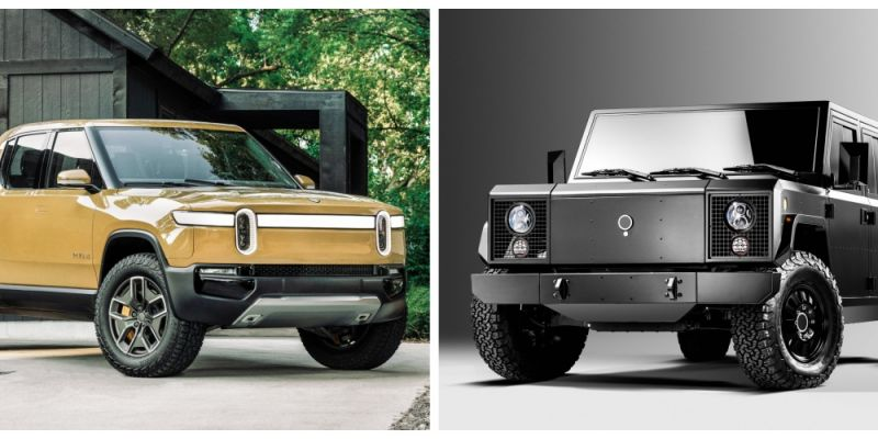 Quick Comparison: The Rivian R1T & Bollinger B2 Electric Trucks