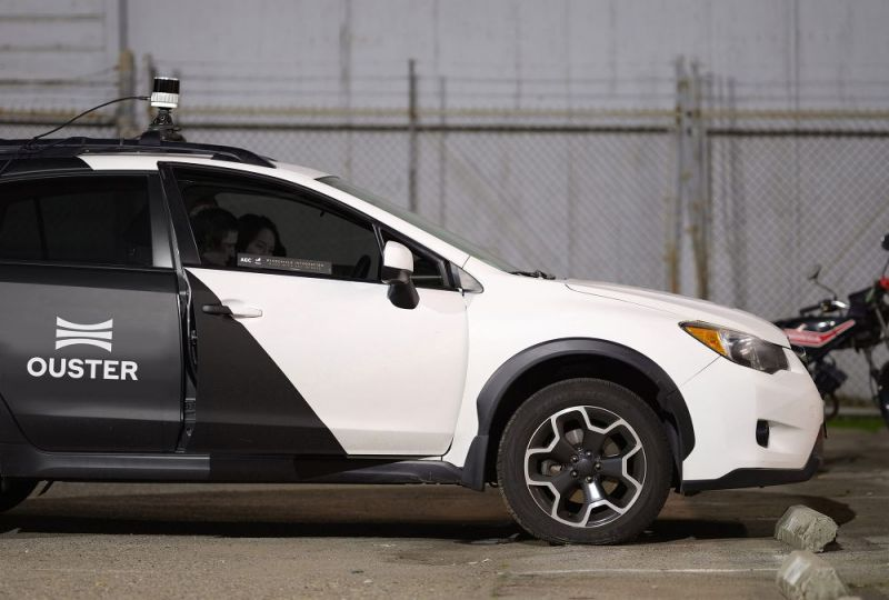 San Francisco Lidar Startup Ouster to Go Public in a Deal Worth $1.9 Billion