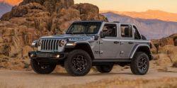 PHEV 2021 Jeep Wrangler 4xe Priced at $49,490