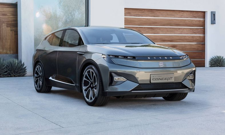 iPhone Assembler Foxconn Signs Deal With EV Startup Byton to Build its M-Byte SUV