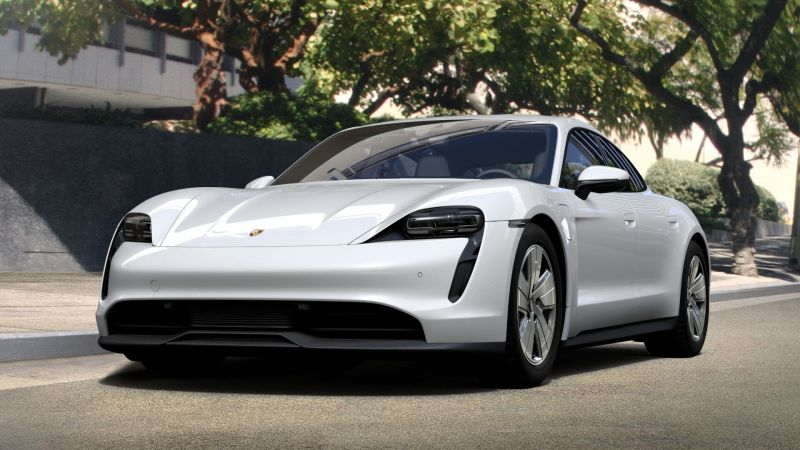 Meet Tesla's Newest Competitor, the 2021 Porsche Taycan Base Model Starts at $79,900