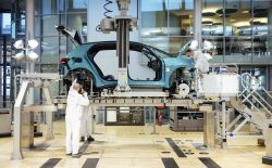 Volkswagen Begins Series Production of the ID.3 Electric Car at its 'Transparent Factory' in Germany