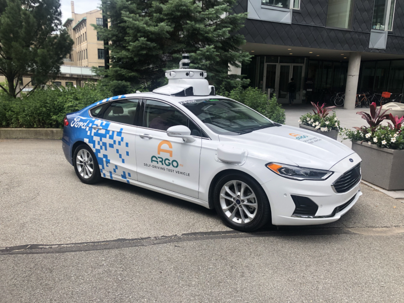 Ford-backed Autonomous Driving Developer Argo AI Conducts Pilot to Study How Traffic Can Flow More Efficiently Using AI