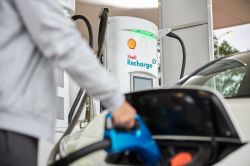 With Peak Oil in the Past, Shell Pivots to Adding EV Charging Stations