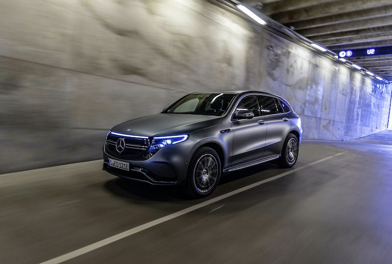 Mercedes-Benz Pulls the Plug on Bringing the EQC to America