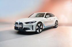 BMW Unveils the Fully-Electric i4 Sedan at its Annual Press Conference in Munich